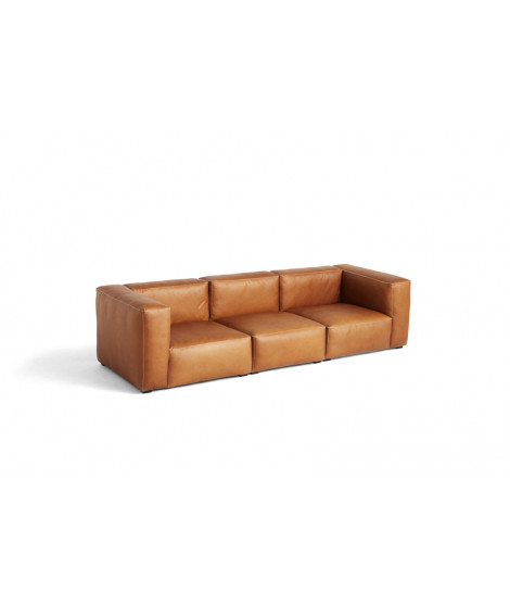 Mags Soft Sofa 3 seater Leather Silk 0250