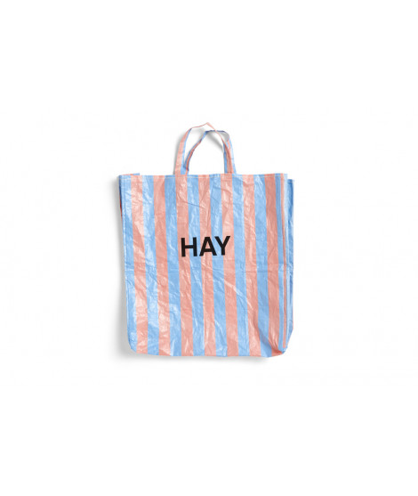 Candy Stripe Shopper
