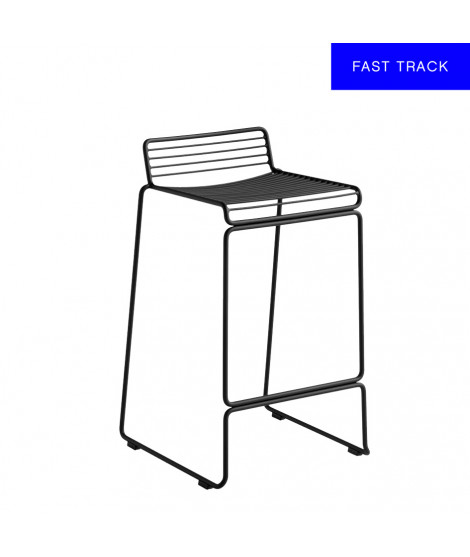 Hee Bar Stool Low Black