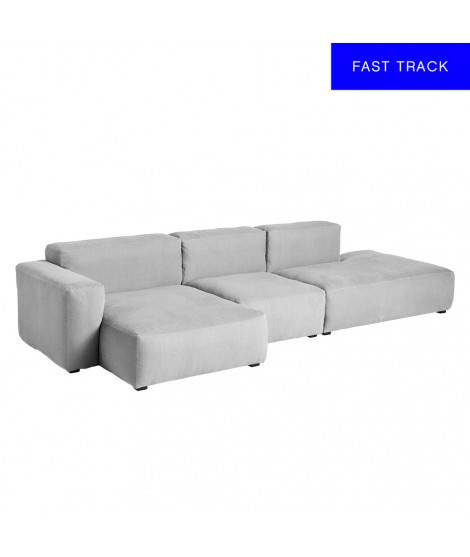 Mags Soft 3 Seater Combination 4 Left Low Armrest, Linara 443
