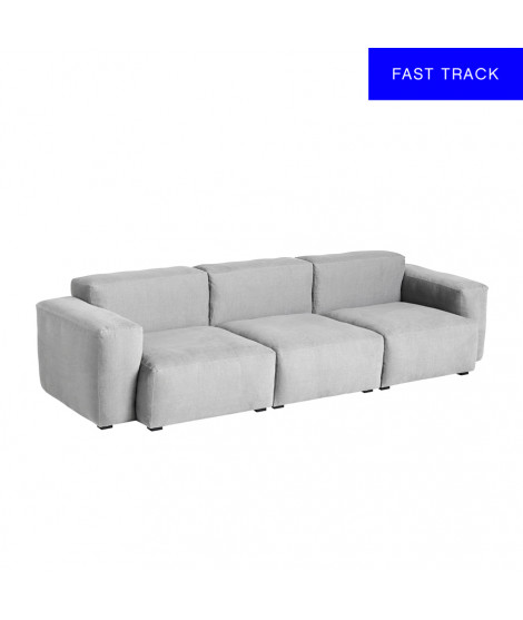 Mags Soft 3 Seater Combination 1 Low Armrest, Linara 443