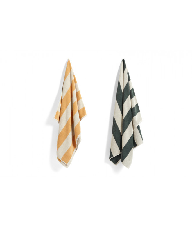 HAY Frotté Stripe bath towel