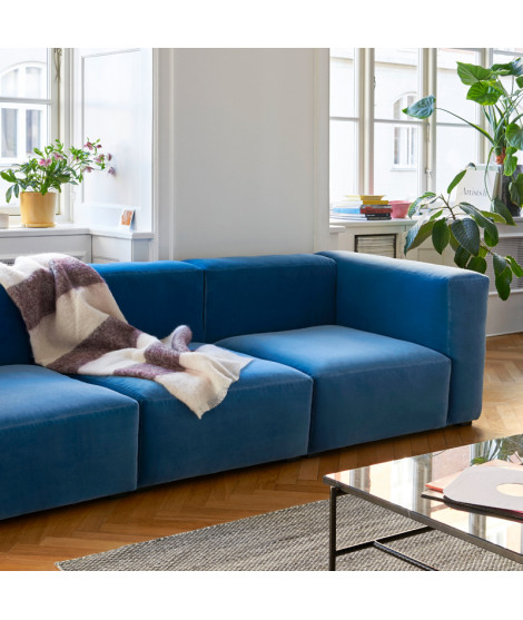 Hay Mags Soft Sofa 3 Seater Combination 1 Lola Blue Buy Online