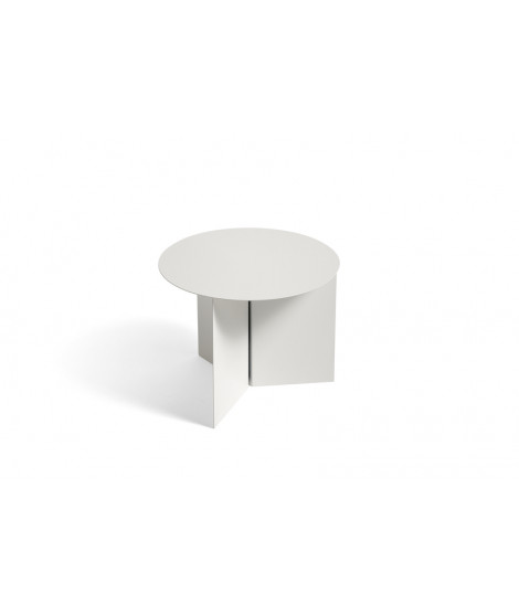 Slit Table Round Side Table