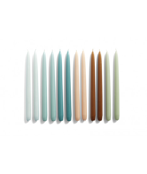 HAY Candle Kaars Set Conical Conisch