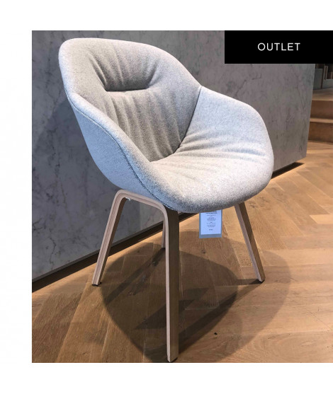 HAY About a Chair AAC 123 Soft Duo stoel outlet