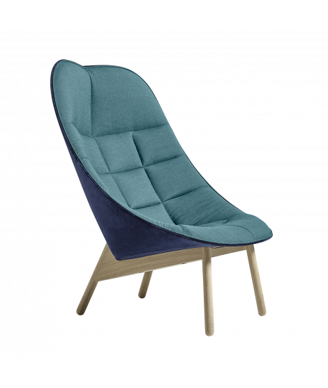 Uchiwa Quilt Lounge chair overview