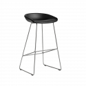 HAY About A Stool AAS39 Barkruk RVS