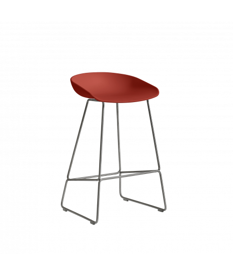 HAY About A Stool AAS38 Barkruk RVS