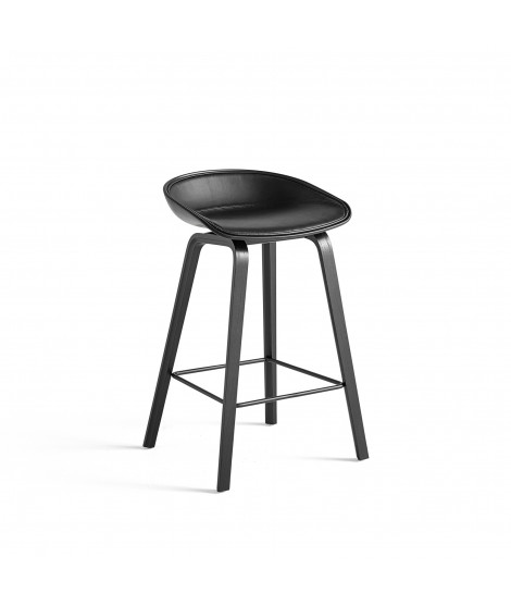 About A Stool AAS32 Leather Silk