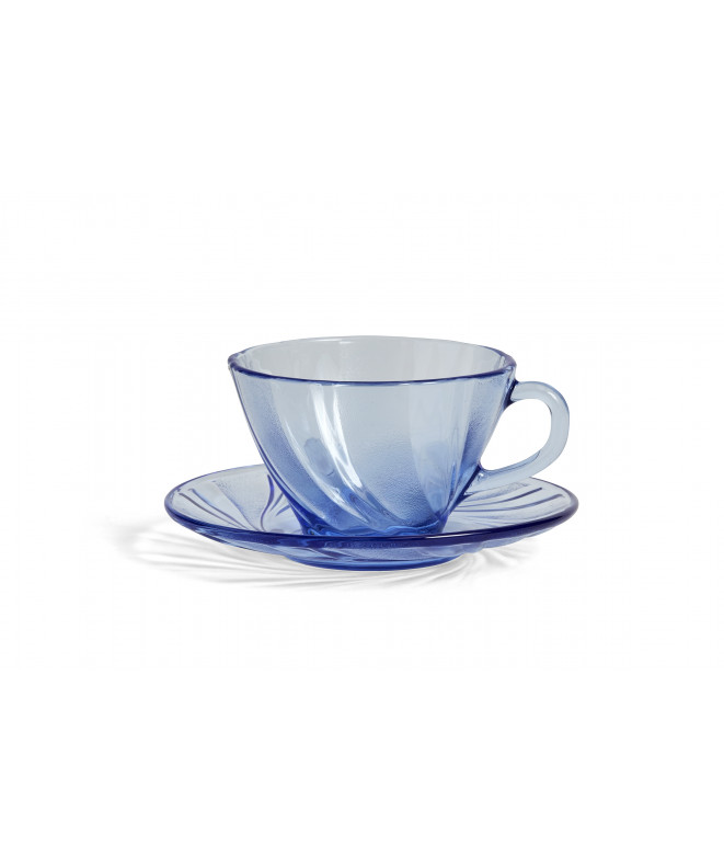 French coffee cup with saucer