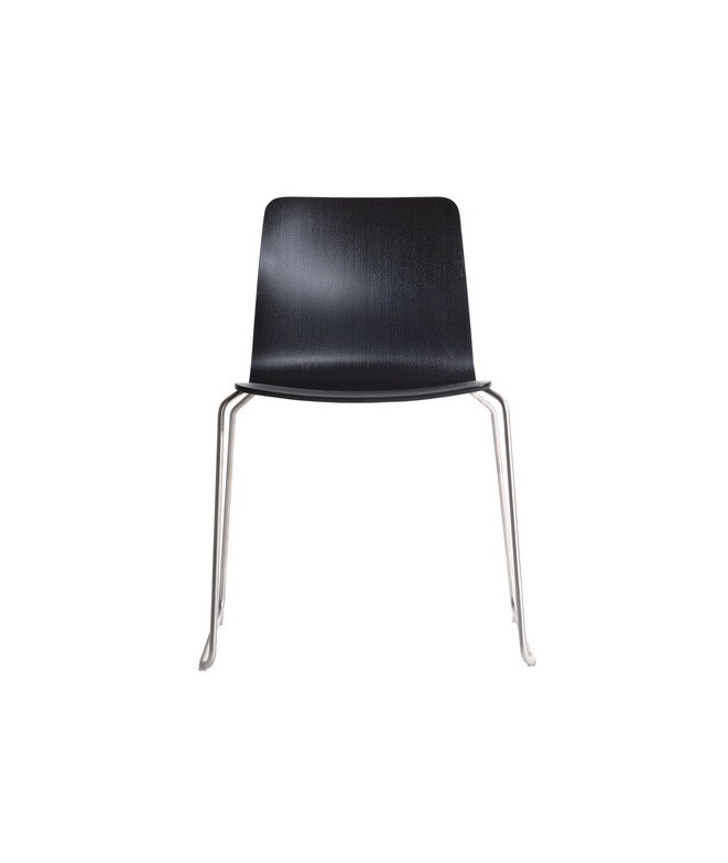 JW01 Chair Solid Stainless Steel Base